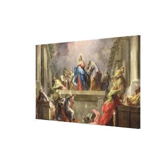 Pentecost, 1732 canvas print