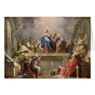 Pentecost, 1732 card