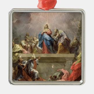 Pentecost, 1732 metal ornament