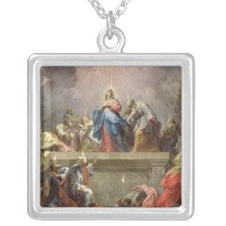 Pentecost, 1732 square pendant necklace