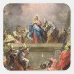 Pentecost, 1732 pegatina cuadrada