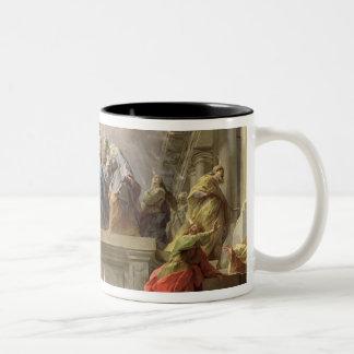 Pentecost, 1732 Two-Tone coffee mug