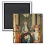 Pentecost 2 Inch Square Magnet