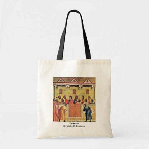 Pentecost By Giotto Di Bondone Bag