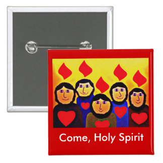 PENTECOST PIN CUADRADA 5 CM