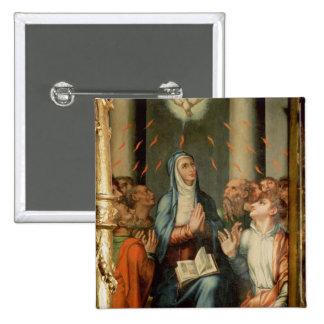 Pentecost Pin Cuadrado