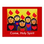Pentecost Postcards