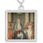 Pentecost Silver Plated Necklace