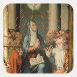Pentecost Square Sticker