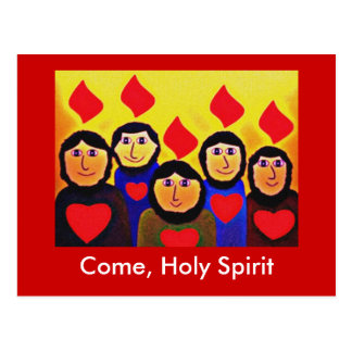 Pentecost Tarjeta Postal