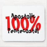 Pentecostal apostólico del 100% tapete de raton