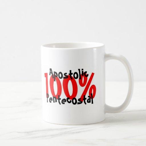 Pentecostal apostólico del 100% tazas de café