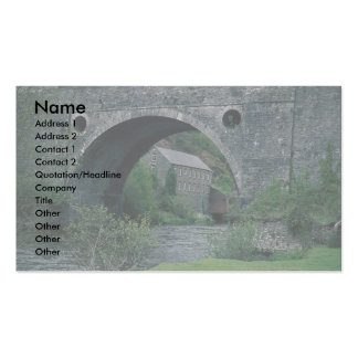 Pentecourt Bridge, Dyfed, Wales Double-Sided Standard Business Cards (Pack Of 100)