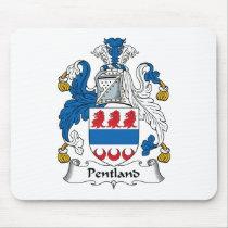 Pentland Family Crest Mousepad
