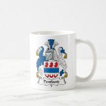 Pentland Family Crest Mug