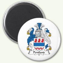 Pentland Family Crest Magnet