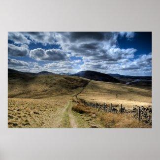 Pentland Hills, Edinburgh print