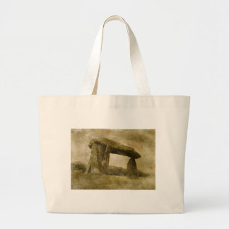 Pentre Ifan Large Tote Bag