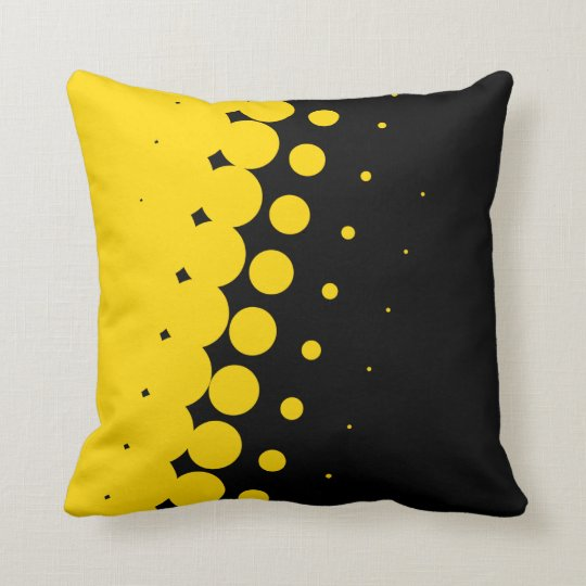 Penumbra Ebony (Gold) Pillow