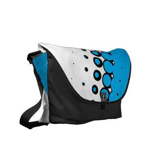 Penumbra Ivory (Cyan) Messenger Bag