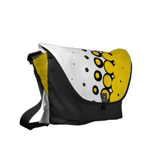 Penumbra Ivory (Gold) Messenger Bag