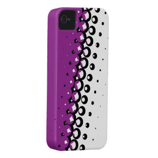 Penumbra Ivory (Purple) iPhone Case
