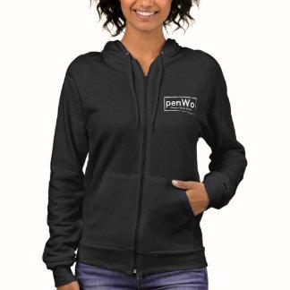 Women's American Apparel California Fleece Zip Hoodie