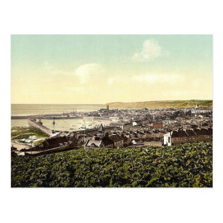 Penzance, general view, Cornwall, England classic Post Card