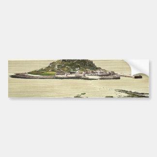Penzance, St. Michael's Mount, Cornwall, England c Bumper Sticker
