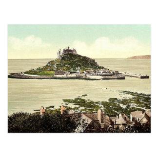 Penzance, St. Michael's Mount, Cornwall, England c Postcard