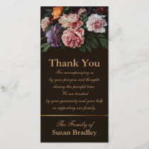 Peonies 1 Sympathy Thank You matching Stamp