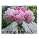 Peonies 2015 Calendar Flowers