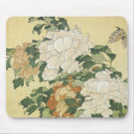 Peonies and Butterfly, 1833-34 Mousepad