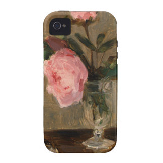 Peonies Berthe Morisot Fine Art iPhone 4 Cover