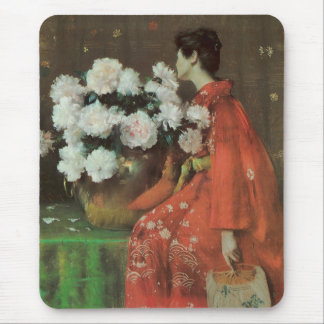 Peonies by William Merritt Chase Mousepad