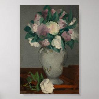 Peonies, Édouard Manet Poster