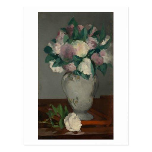 Peonies, Édouard Manet Tarjetas Postales