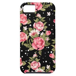 Peonies endebles rosados iPhone 5 carcasa