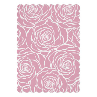 Peonies,floral,white,pink,pattern,girly,modern,bea Card