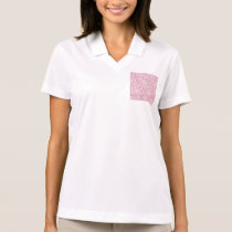Peonies,floral,white,pink,pattern,girly,modern,bea Polo Shirt