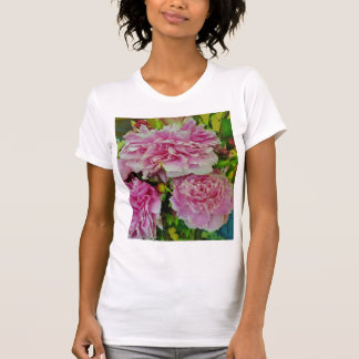 Peonies French Country Style T-Shirt