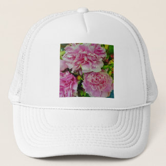Peonies French Country Style Trucker Hat