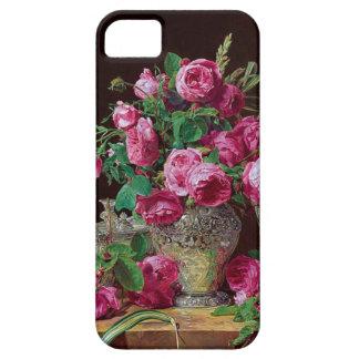 peonies|iphone 5/5S| miel-doux design iPhone SE/5/5s Case
