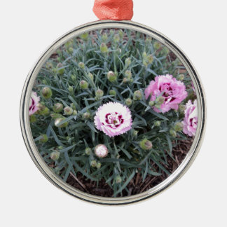 Peonies Christmas Ornaments