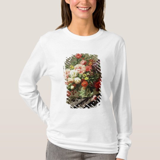 Peonies, Poppies and Roses, 1849 T-Shirt
