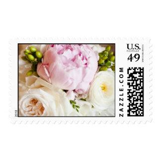 Peonies Ranunculus Wedding Postage