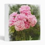 """Peonies rosados 1"""" álbum de foto"""