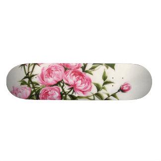 Peonies Skateboard Deck