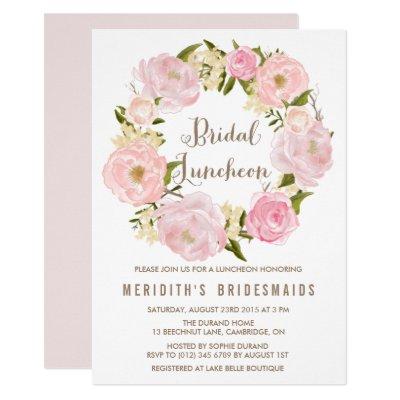 Whimsical Calligraphy Bridal Shower Invitation Zazzlecom