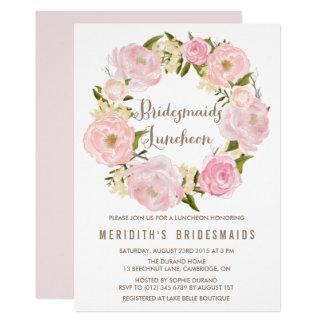 Watercolor Bridesmaid Invitations Announcements Zazzle